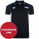 Black World Cup Winger Polo Shirt